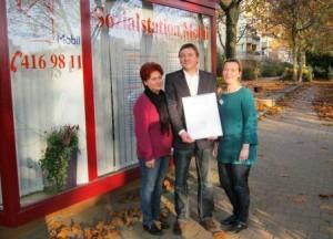 RAL-Urkunde für Sozialstation Mobil, Berlin